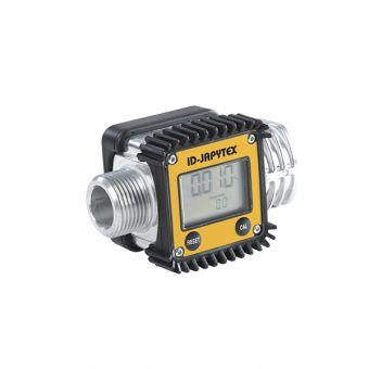 Compteur / débitmètre étalonnable à turbine ATEX, référence ID-JAPYTEX