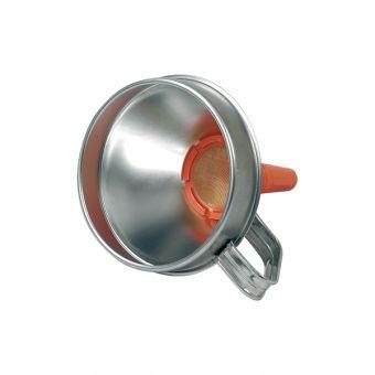 Entonnoir fer blanc, référence ENT331B pour transfert de liquide