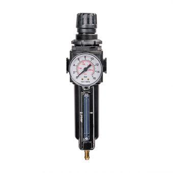 Filtre régulateur de pression d'air pour pompe pneumatique