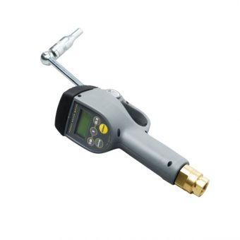 Pistolet avec compteur incorporé pour huile avec compteur électronique à présélection