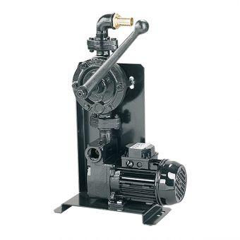 Pompe électrique panoplie avec manuelle d'amorçage et de secours