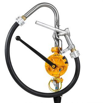 Pompe manuelle ATEX équipée pour hydrocarbures FAT0, FAT1, FAT2