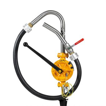 Pompe manuelle ATEX équipée pour solvants, référence FAT0SO, FAT1SO,FAT2SO