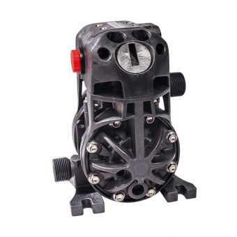 Pompe pneumatique à membranes, corps acétal AC1/4PTFE-EX