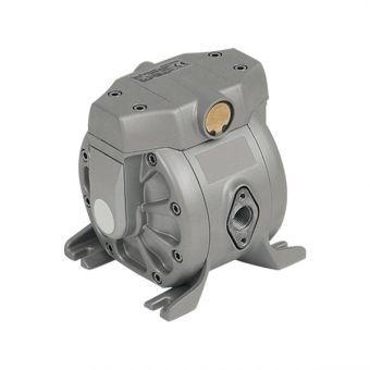 Pompe pneumatique à membranes, corps Aluminium AL1/2NBR-EX