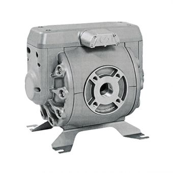 Pompe pneumatique à membranes, corps Aluminium AL112PTFE-EX