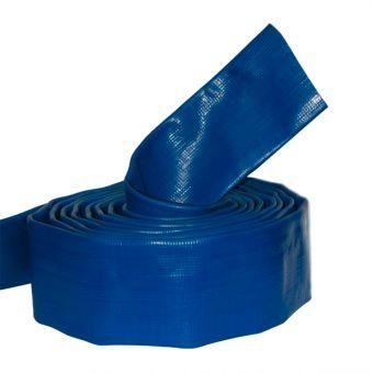 Mètre de tuyau supplémentaire PVC plat Ø 50 à ajouter